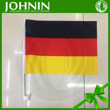 2015 customized promotion fast delivery 100% polyester germany car flag