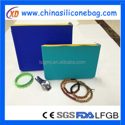 newest style silicone smart wallet,silicone card holder