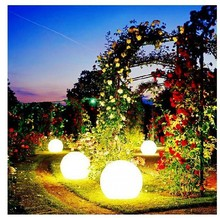 PE material waterproof color changing rechargable led balls led light ball for indoor and outdoor use