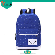 2015 wholesale product casual preppy stylish contracted trendy backpack canvas bag for cheap made custom