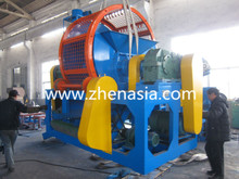 high quality popular New type waste tyre shredder (rubber crusher ) for sale