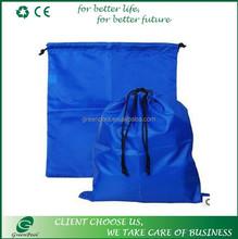 New promotional customized polyester shopping big drawstring bag