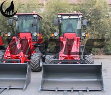2015 new style 1000KG small wheel loader with Xinchai 490 Euro iii engine joystick