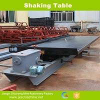 Shaking table chrome washing equipment