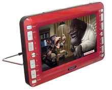 2015 year 9.1 inch high definition car dvd player with buetooth and LED screen and swivel screen