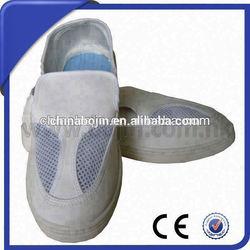 Velcro skate mesh side shoes