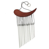 Hot Sale 2015 New Aluminum Tube Wind Chime Chimes Healing Sound Garden Living Decor