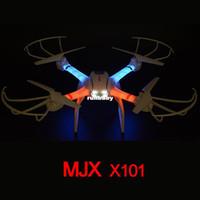 MJX X101 6-Axis 360 Flips One-key-return Kit 2.4GHz wifi fpv RC hexacopter drone