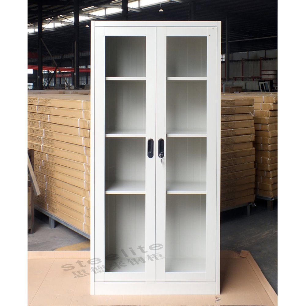 Sliding Glass Door Metal Storage Cabinet Steel File Cabinet Buy
