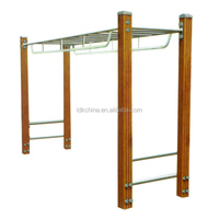 Ladder for fitness trail outdoor horizontal ladder horizontal stair