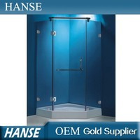 HS-SR803 low tray diamond shaped standard size shower room