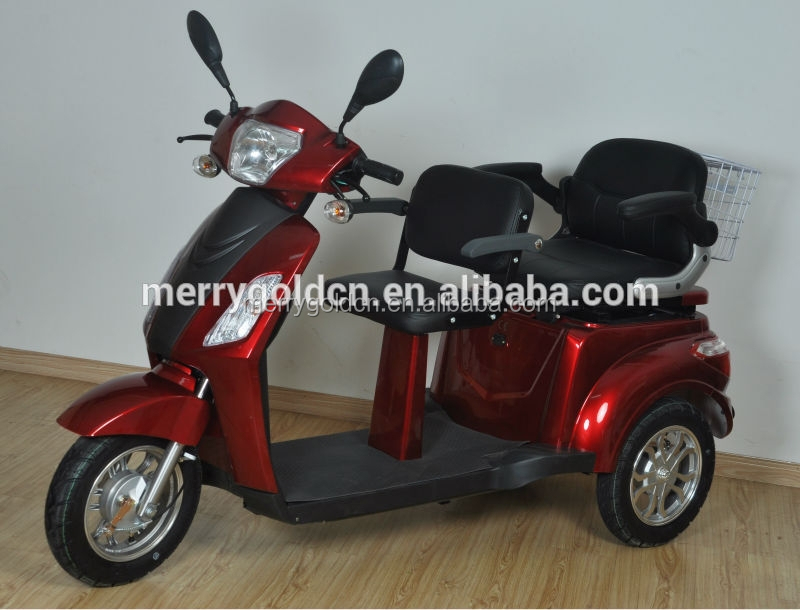 Buy low price 3 wheel 2 seat electric mobility scooter for for 3 wheel scooters for adults motorized