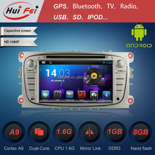 For FORD Focus 2008-2011 with GPS navigation GPS audio car DVD car radio OBD2 Android touch screen car dvd