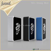 Hells gate box mod dual 18650 dragon smaug 150w mod in black free sample free shipping
