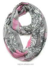 Fashion Leopard Pattern Shawl Scarf Wrap for Women