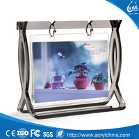 New arrival acrylic rotating glass photo picture frame
