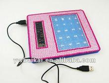 2013new design Big novelty USB desktop touch screen calculator