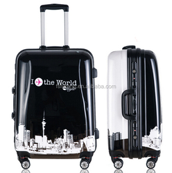 delsey luggage with luggage push button handle