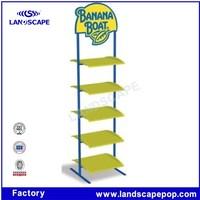 5 tier banana display rack