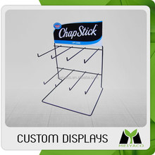 Unique factory direct metal retail up counter display stand rack