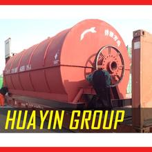 Easy operation Scrap Tire recycling to oil pyrolysis machine