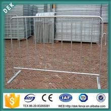 Portable concert steel bike rack traffic barrier
