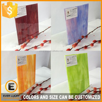 3mm chinese decorative color glass