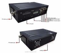 Military AV COFDM Transmitter , 15W High Power Wireless Video Sender