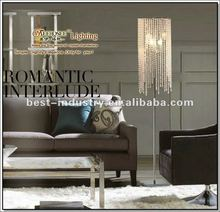 2012 square crystal floor standing lamps,by Meerosee Manufacturer,FL