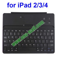 Ultra Slim Bluetooth Aluminum Keyboard for iPad 2 with Stand