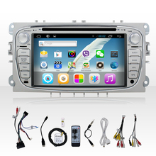 Pure android 4.2.2 car GPS stereo with WIFI 3D UI Bluetooth Radio SD USB