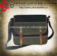 2013 fashionable Canvas Messenger Bag/Vintage Canvas Shoulder Bag British business bag laptop