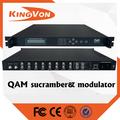 Catv digital cabecera dispositivo QAM rf dvb-c modulador con scrambler funtion