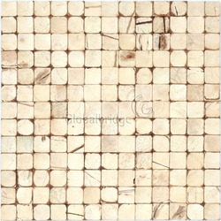 coconut shell mosaic tile