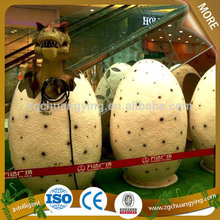 2014 venta caliente al aire libre escotilla de huevo de dinosaurio