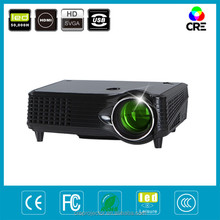 led hdmi home theater video projector 1500 lumens support 1080p 3D, 50000hours life
