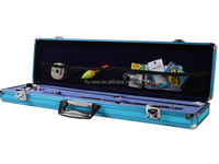 aluminum long fishing case/aluminum gun case for rifle/aluminum golf case