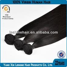 100% Guarantee Tangle Free Unprocessed Remy Cuticle Brasilian Human Hair
