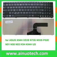 SP language keyboard for ASUS laptop layout a53s K54 K54H K55 A55 A72 N50 N51 N53 X54H X53S N53S N73S P52E