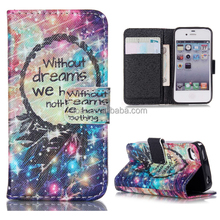 Stained Starlight New for IPhone 4s Wallet Case