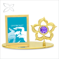 Customized Extreme Gold Plated Crystals Photo Frames In Dubai