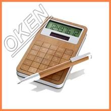 2015 OK-J2000 8 digit MosoBamboo Desktop Calculator