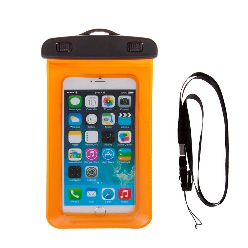 PVC phone waterproof bag case for iphone 6 ,waterproof case For iphone case