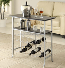 Home Decorative Wine Storage Console Floor Stand
