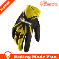 RIGWARL Protective Black Sports Synthenic Leather Motorbike Racing Gloves For Motorcycle Sports With OEM Service