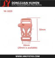 Jinyu side release buckle/plastic curved side release buckle