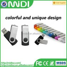 Swivel colorful bulk usb flash drive, high speed usb flash drive 4gb/8gb/16gb/32gb/64gb