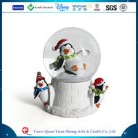Resin Winter Snowman Glass Snow Ball,Polyresin Snowman Glass Snow Globe,Diameter 6.5cm 8cm 10cm 12cm Glass Snow Globe