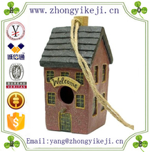 2015 chinese factory custom made handmade carved hot new products resin birdhouse