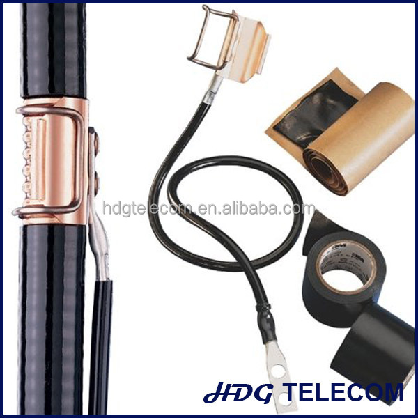 Cable Grounding Kit : Small universal grounding kit for coaxial cable buy